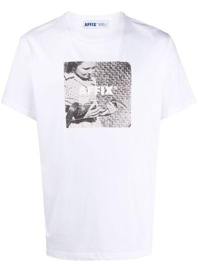 Affix футболка с логотипом AFFWSS20TS08 - 1