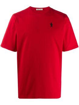 Marni футболка с нашивкой-логотипом HUMU0157A0S22763