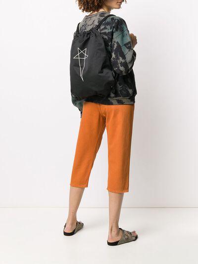 Rick Owens DRKSHDW рюкзак с принтом и кулиской DS20S5404MUEP6 - 2