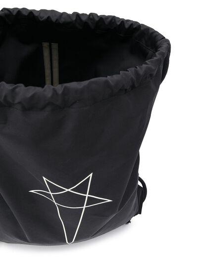 Rick Owens DRKSHDW рюкзак с принтом и кулиской DS20S5404MUEP6 - 5