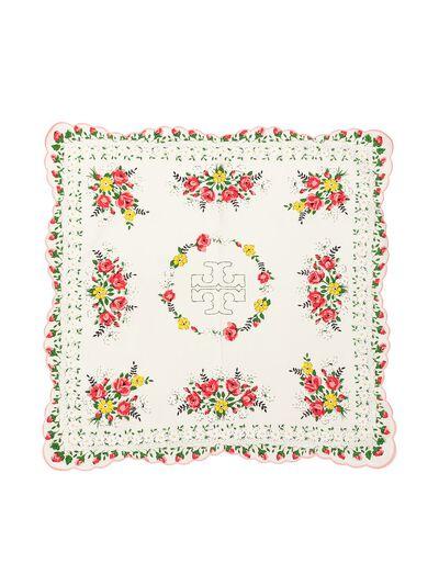 Tory Burch платок с принтом Garden Veil 63269 - 2