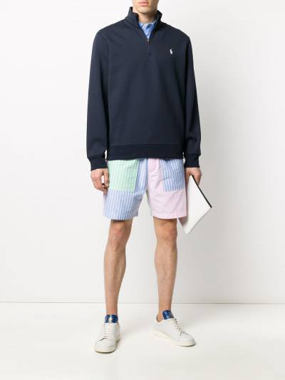 Polo Ralph Lauren рубашка-поло с воротником на молнии 710782500 - 2