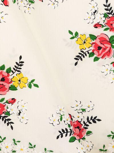 Tory Burch платок с принтом Garden Veil 63269 - 4