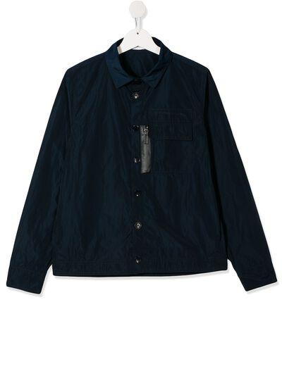 Paolo Pecora Kids куртка с жатым эффектом и карманами PP2307 - 1