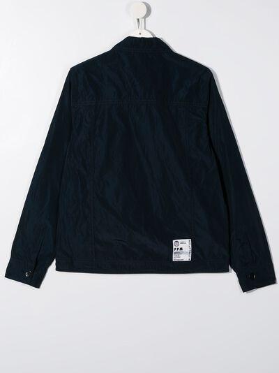 Paolo Pecora Kids куртка с жатым эффектом и карманами PP2307 - 2