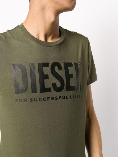 Diesel футболка с логотипом 00SXED0AAXJ - 5
