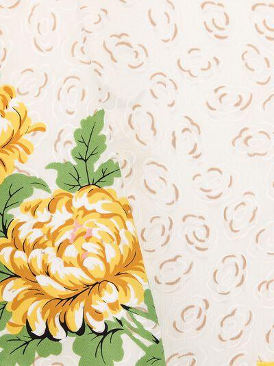 Tory Burch платок с принтом Floral Cloud 63265 - 4