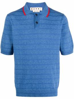 Marni рубашка поло в полоску POMG0025Q0S17334