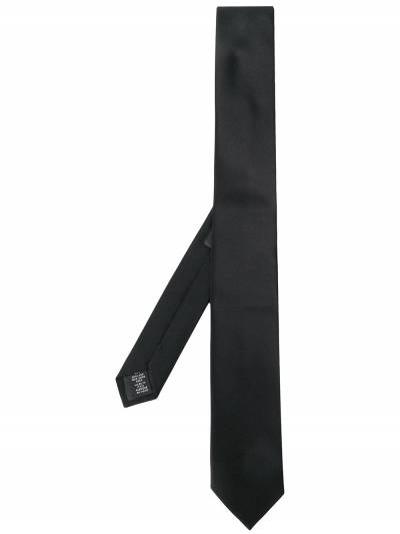 Z Zegna галстук с заостренным концом Z7Z501SV - 1
