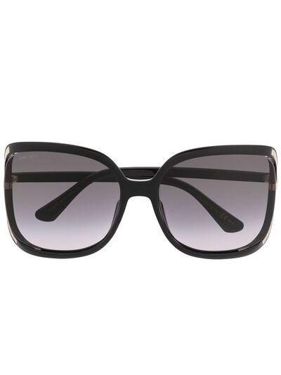 Jimmy Choo Eyewear солнцезащитные очки TIlda в квадратной оправе с затемненными линзами 202737807609O - 1