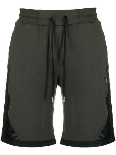 Philipp Plein colour block track shorts P20CMJT1494PJO002N - 1