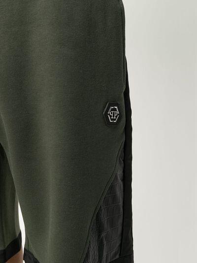 Philipp Plein colour block track shorts P20CMJT1494PJO002N - 5