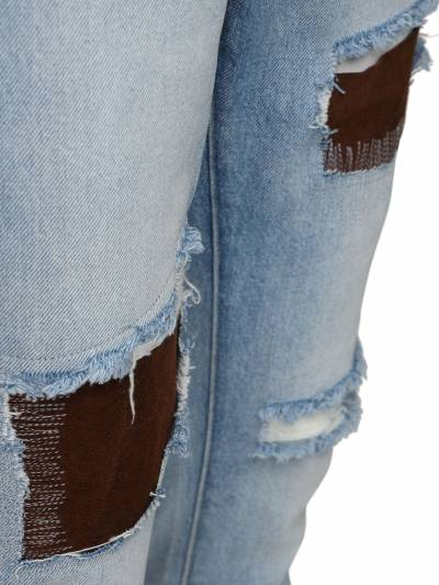 Light Wash Indigo Destroyed Denim Jeans 424 71IXGQ017-TFQgSU5E0 - 2
