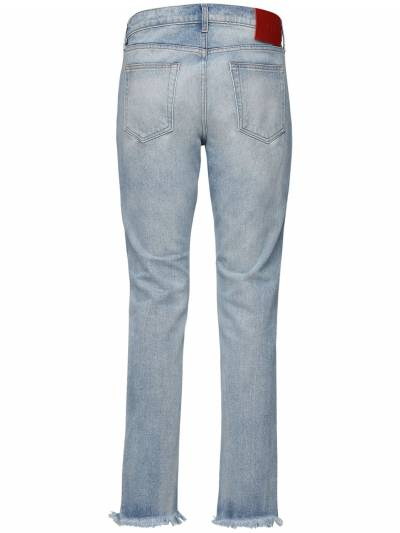 Light Wash Indigo Destroyed Denim Jeans 424 71IXGQ017-TFQgSU5E0 - 3