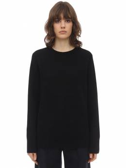 Sibel Wool & Cashmere Knit Sweater The Row 70IX5B062-QkxL0