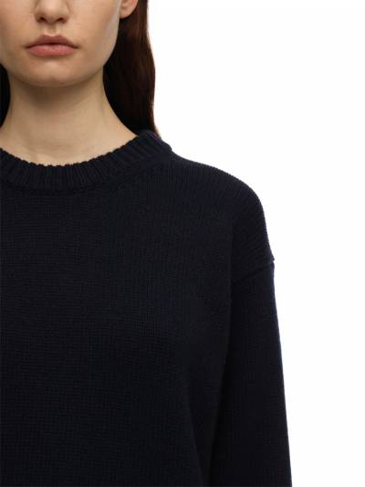 Heavy Cashmere Knit Sweater The Row 70IX5B047-TlZZ0 - 2