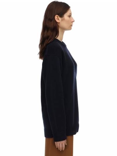 Heavy Cashmere Knit Sweater The Row 70IX5B047-TlZZ0 - 3