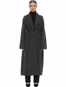 Long Cashmere Felted Robe Coat The Row 70IX5B022-R1JN0