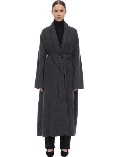 Long Cashmere Felted Robe Coat The Row 70IX5B022-R1JN0 - 1