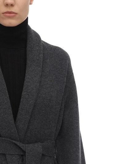Long Cashmere Felted Robe Coat The Row 70IX5B022-R1JN0 - 2