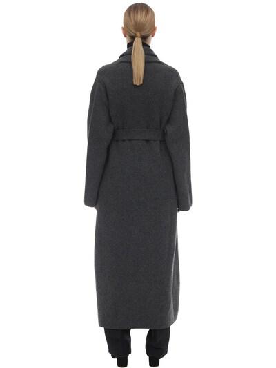 Long Cashmere Felted Robe Coat The Row 70IX5B022-R1JN0 - 4