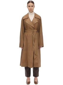 Soft Leather Coat The Row 70IX5B016-Q01M0