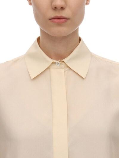 Long Habotai Silk Sleeves Shirt The Row 70IX5B005-U0FO0 - 2