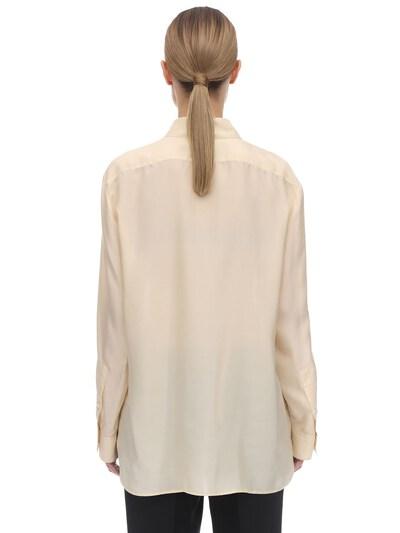 Long Habotai Silk Sleeves Shirt The Row 70IX5B005-U0FO0 - 4