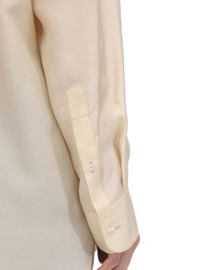 Long Habotai Silk Sleeves Shirt The Row 70IX5B005-U0FO0 - 5