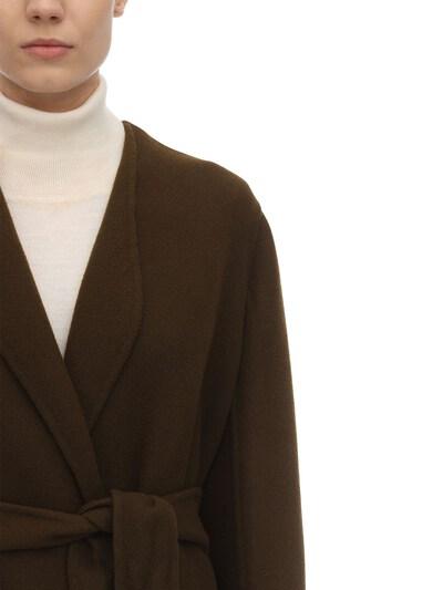 Long Virgin Wool Blend Coat The Row 70IX5B003-QVJN0 - 2