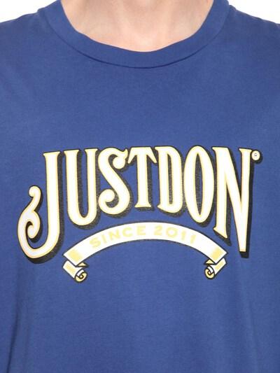 2011 Printed Cotton Jersey T-shirt Just Don 71IWWI005-QkxV0 - 2