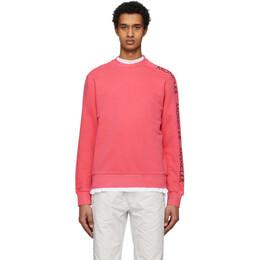 Moncler Red Logo Print Sweatshirt 8G733 - 10 - 8098U