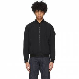 Stone Island Black Packable Skin Touch Jacket 721544431