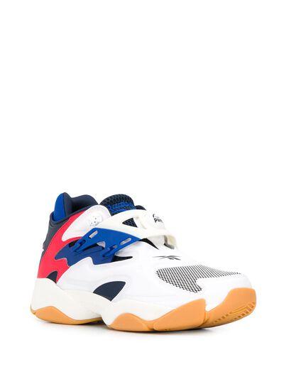 Reebok Pump Court contrast panel sneakers FV5565 - 2