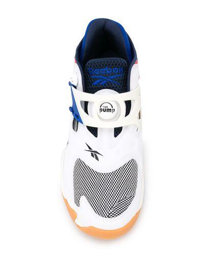 Reebok Pump Court contrast panel sneakers FV5565 - 4