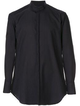 Strateas Carlucci полосатая рубашка с воротником-стойкой SCSS20D1MSHRT003STR