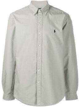 Polo Ralph Lauren рубашка с вышитым логотипом 710736557