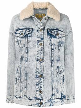 MICHAEL Michael Kors джинсовая куртка из вареного денима MH91EY5D8D961