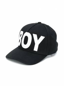 Boy London Kids бейсболка с вышитым логотипом 207BLACKWHITE