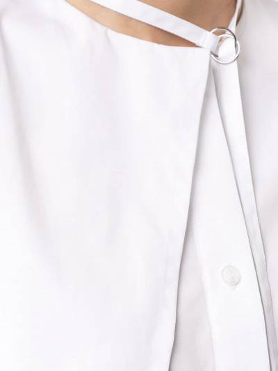 Boyarovskaya рубашка оверсайз на пуговицах SHRTSS19DCSTRD - 5
