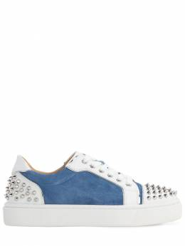 35mm Vierissima Suede & Leather Sneakers Christian Louboutin 71IG6N017-UTcxOQ2