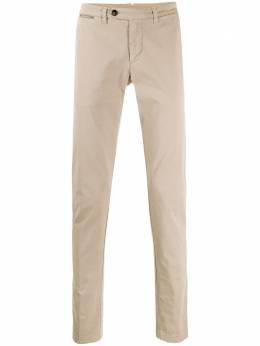Eleventy брюки чинос прямого кроя A75PANA02TET0A003