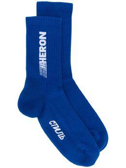Heron Preston трикотажные носки с логотипом HMRA002S197690673101