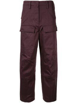 System брюки карго прямого кроя SY1J8WPCT10W