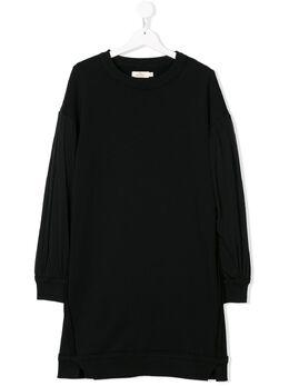 Andorine платье с рукавами из тюля ADW1801A
