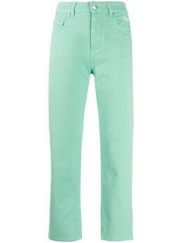 MSGM укороченные брюки кроя слим 2841MDP81T207276