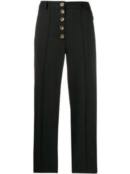 Each X Other брюки прямого кроя на пуговицах FW19G17180