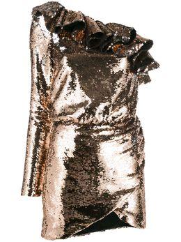 Amen коктейльное платье с пайетками AMW19410