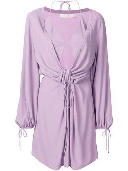 Dion Lee платье-туника с драпировкой A9630R20
