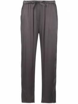 Raquel Allegra укороченные брюки Slate с завышенной талией Y968153